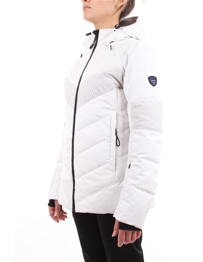 EA7 Emporio Armani Snow jacket White