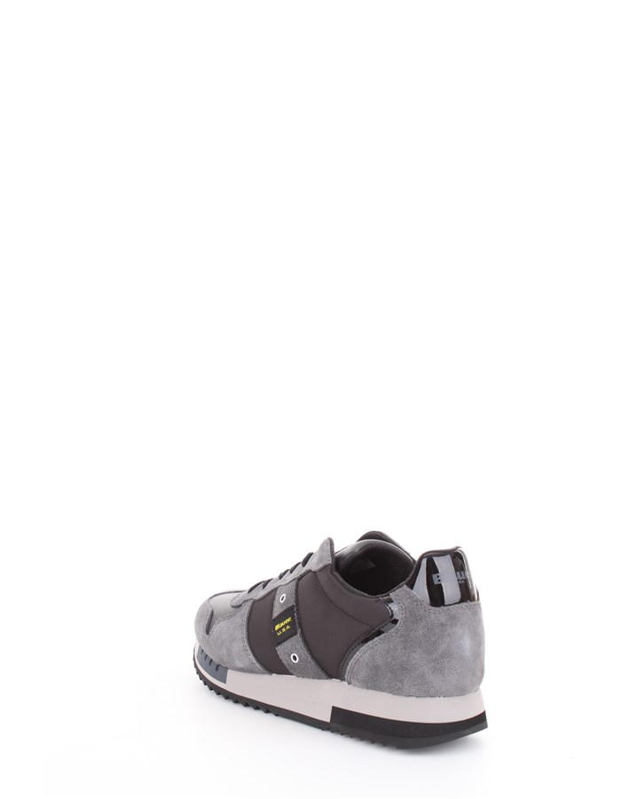 Blauer Shoes Sneakers Black
