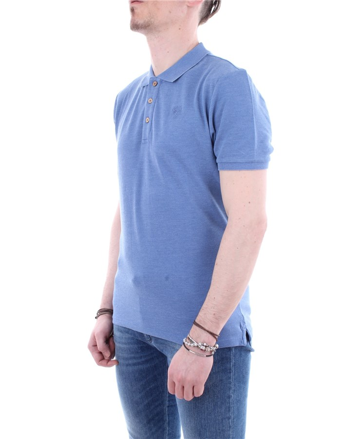 Blauer Polo  Grey