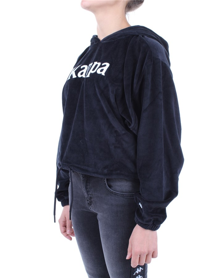 Kappa Hoodies Black