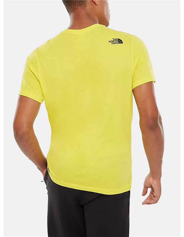 The North Face Short Sleeve T-shirt Yellow