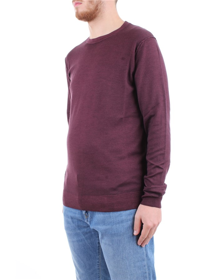 Blauer Shirt Bordeaux