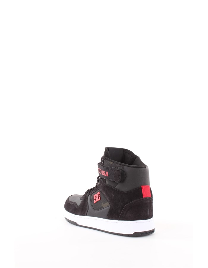 DC Shoes Sneakers Xkwr-black-red-white