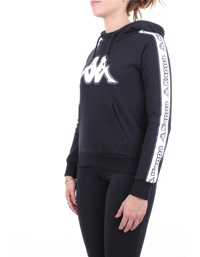 Kappa Sweatshirt Black
