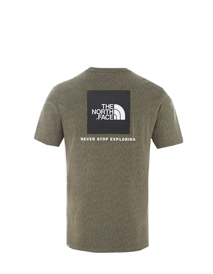 The North Face Short Sleeve T-shirt Olive green