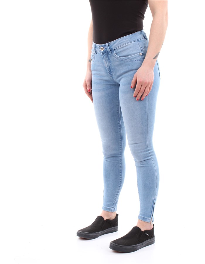 ONLY Jeans Light-blue-denim