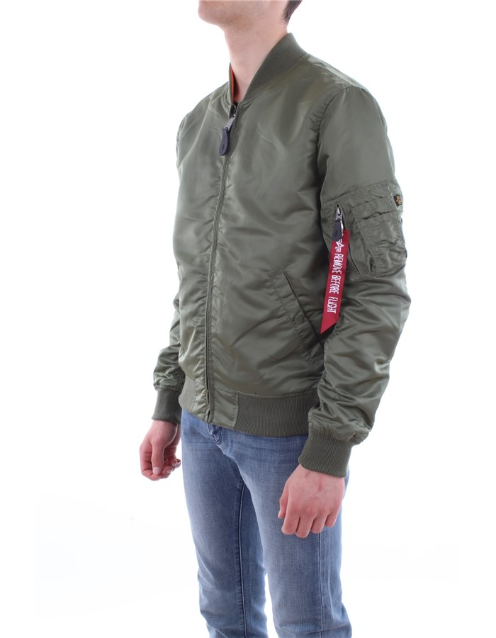 Alpha Industries Jacket 01-green military