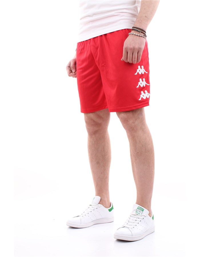 Kappa Bermuda shorts Red