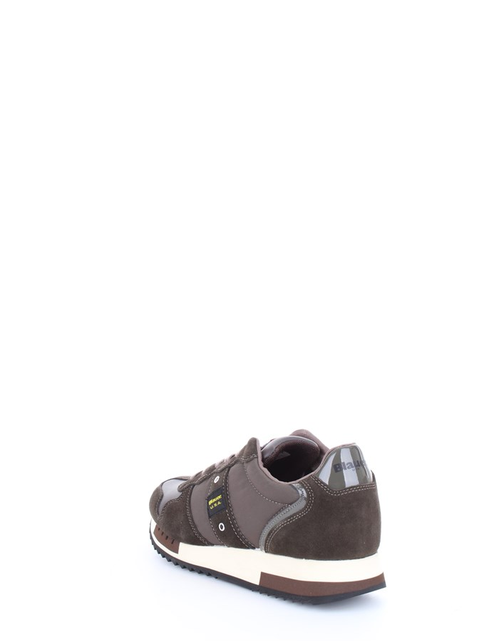 Blauer Shoes Sneakers Brown