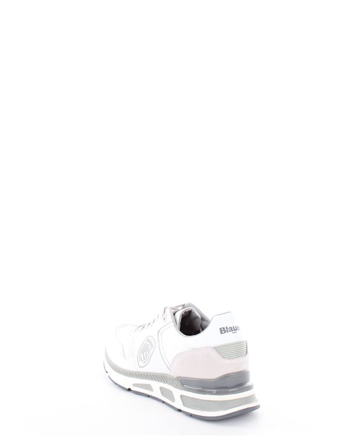 Blauer Shoes Low Sneakers White