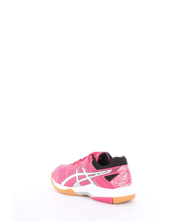 Asics Volleyball shoes 1993-rouge red-silver-black