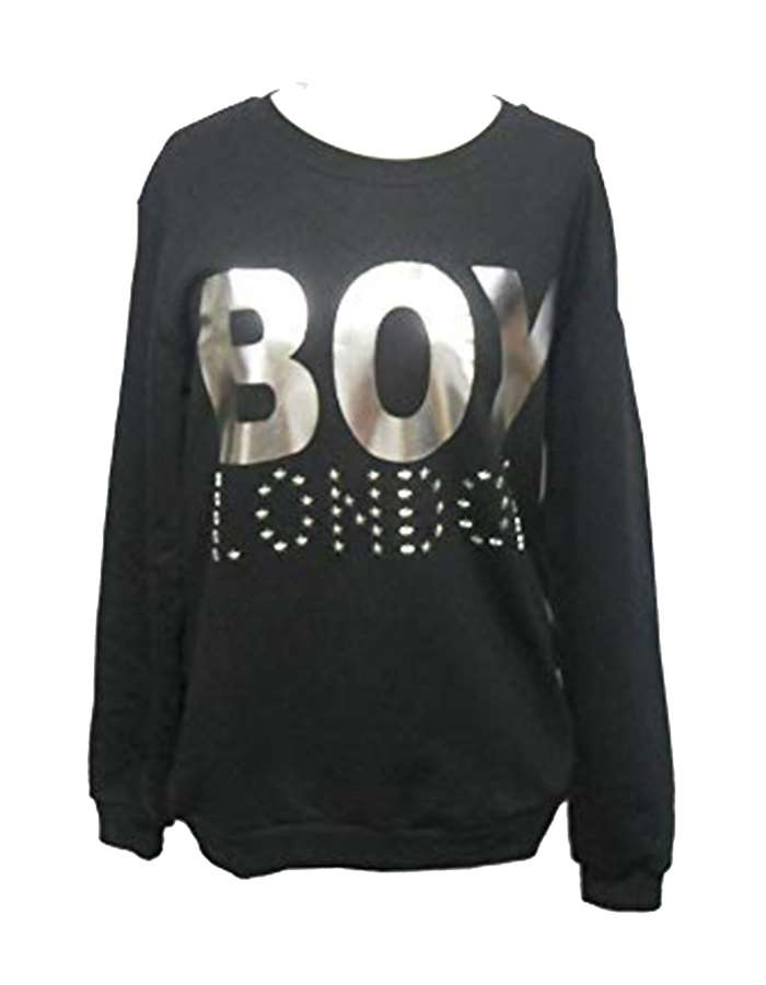 Boy London Sweat Black