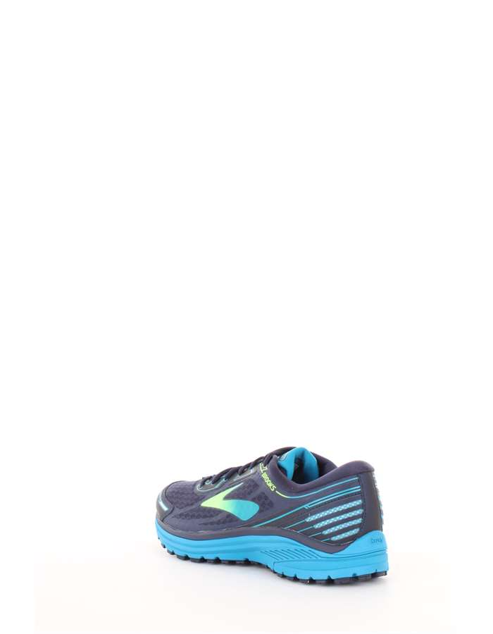 BROOKS Scarpe running 499-blu-verde