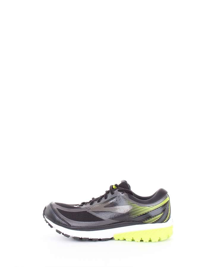 BROOKS Scarpe Unisex Scarpe running 078 nero-lime 110256-1D-GHOST-10-GTX