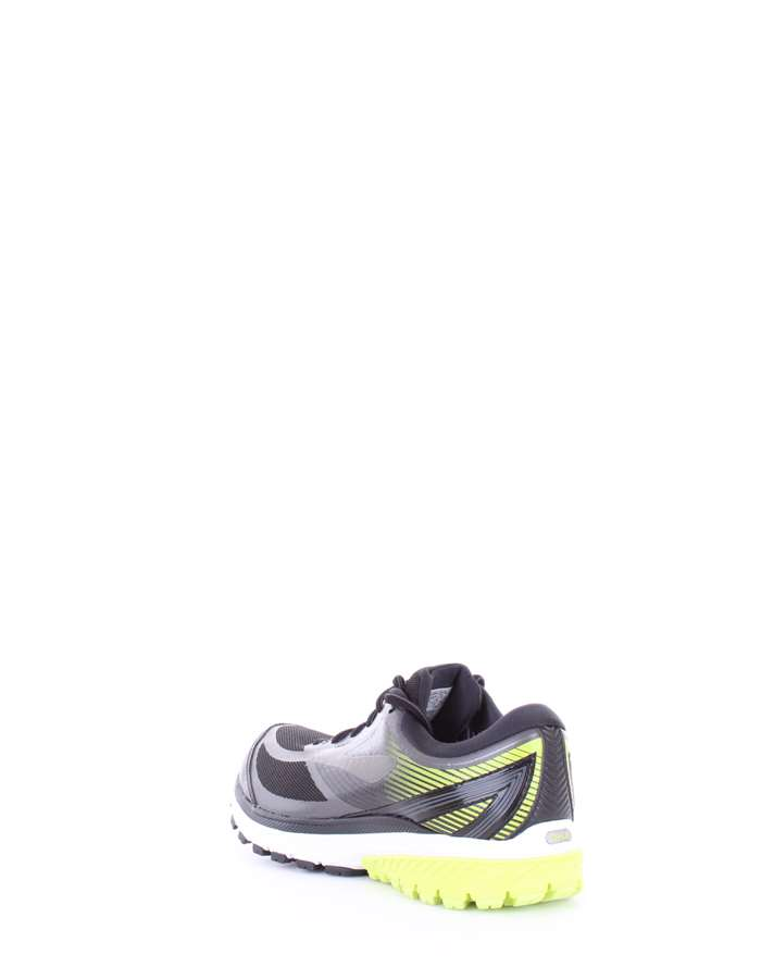 BROOKS Scarpe running 078 nero-lime