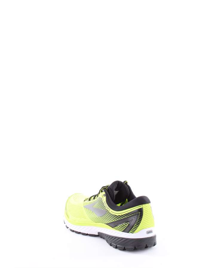 BROOKS Running Shoes 706-yellow-black