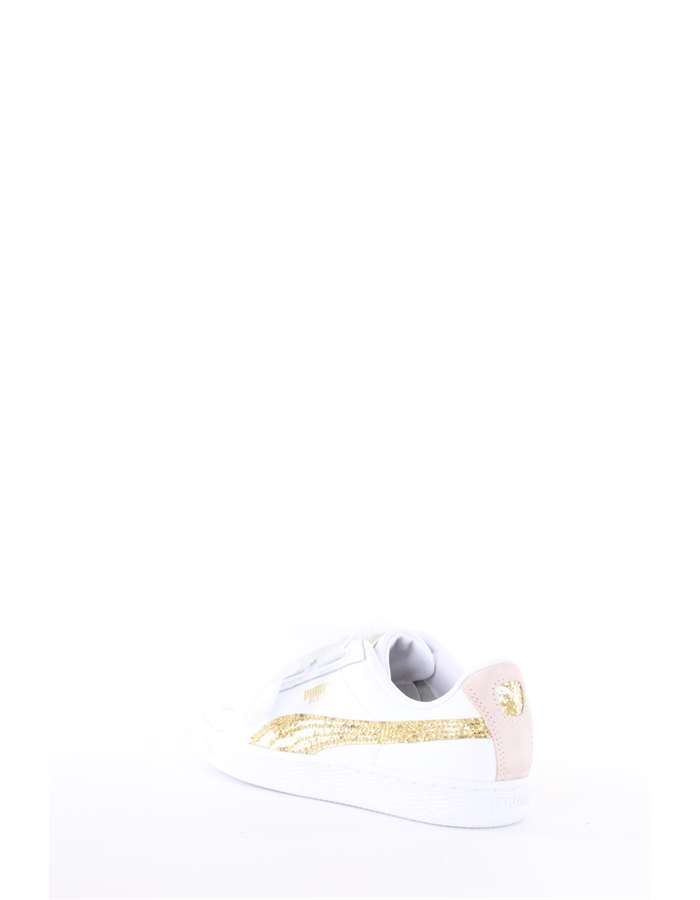 Puma Sneakers 01-white-gold