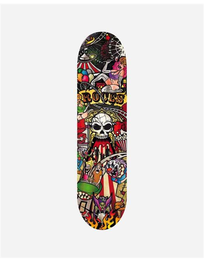 Roces Skateboard Multicolor