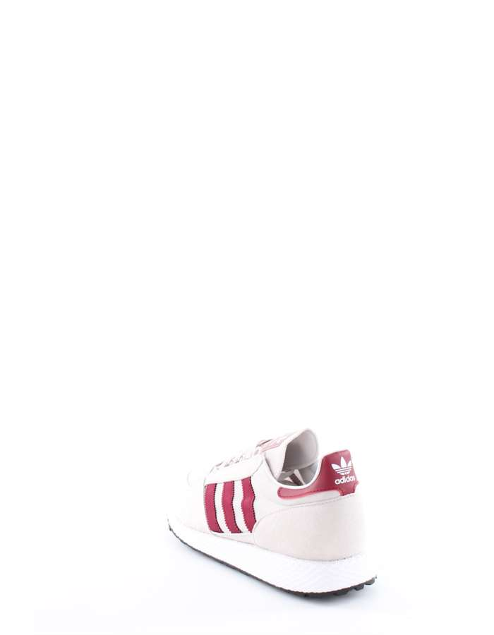 Adidas Originals Sneakers Bianco-bordeaux