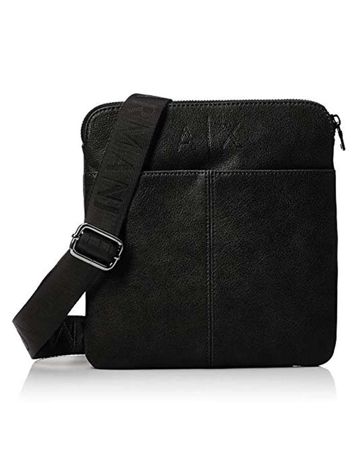 Armani Exchange Accessori Uomo Borsa 00020 nero 952140-8A208-BORSA-MESSENGER