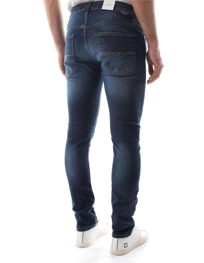 Guess Jeans Jeans Yal1-denim-scuro