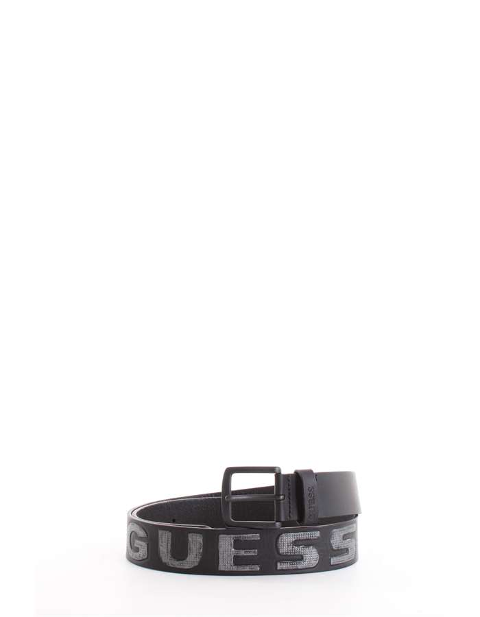 Guess Jeans Belt Jblk-black