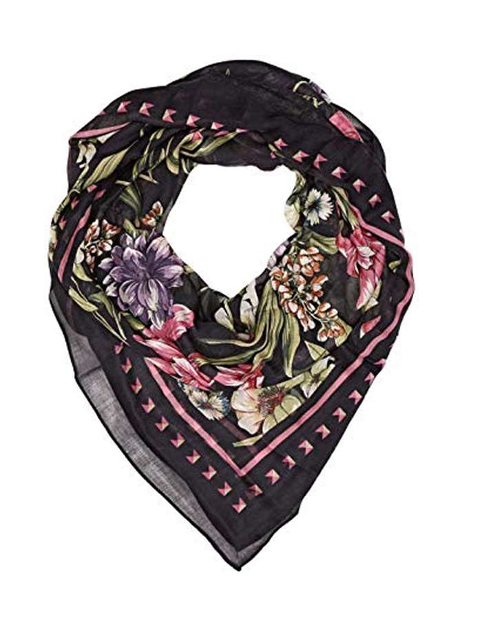 Guess Jeans Foulard Pza9-black-patterned