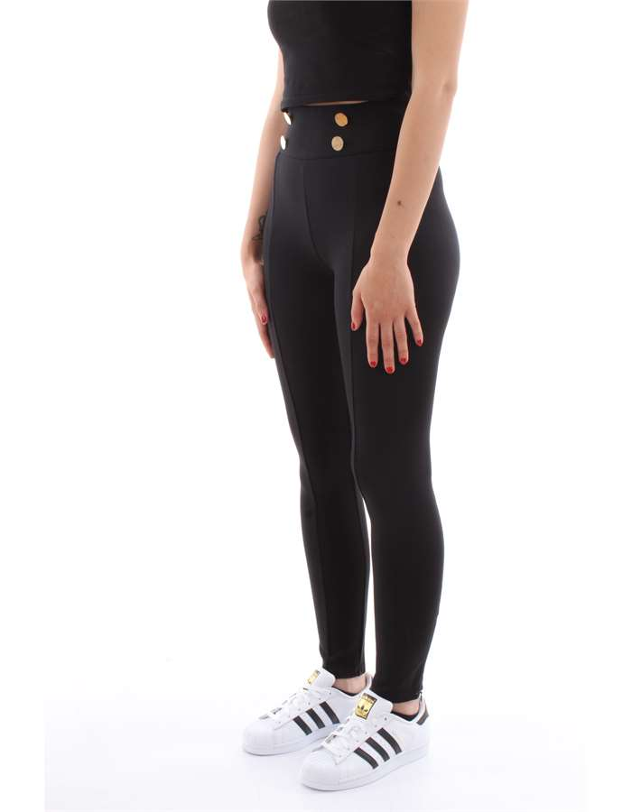 Guess Jeans Leggings Jblk-nero