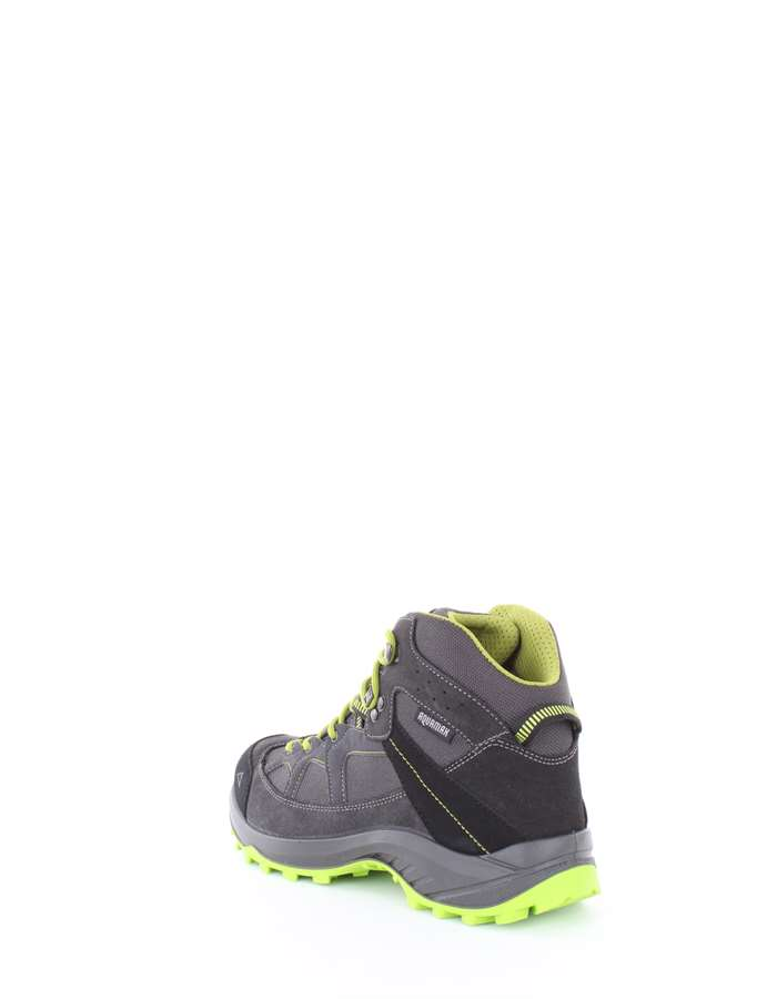 MCKINLEY Trekking shoes 901-043-anthracite-green-lime
