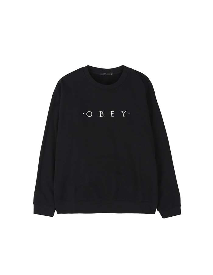 Obey Sweat Blk-black