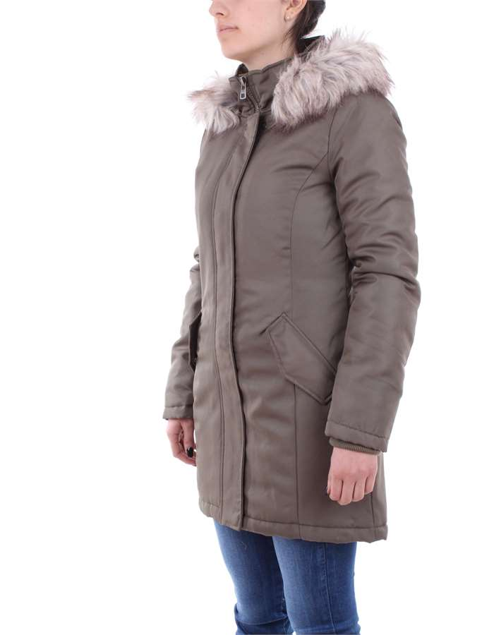 ONLY Overcoat Green