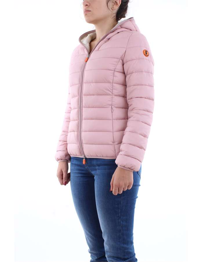 Save the Duck Jacket 00996-pink-blush