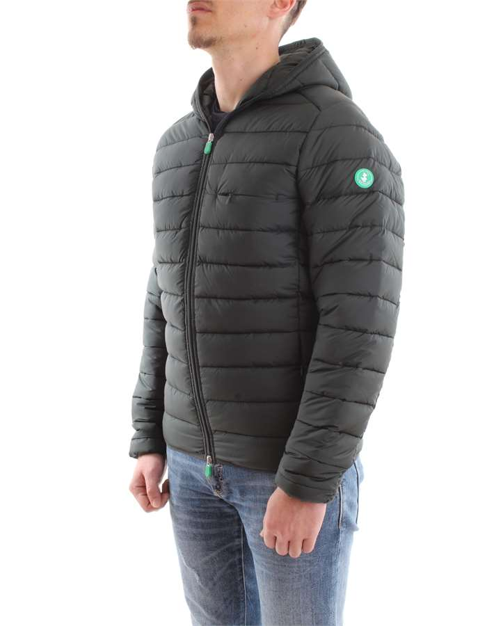 Save the Duck Jacket 01178-green-black