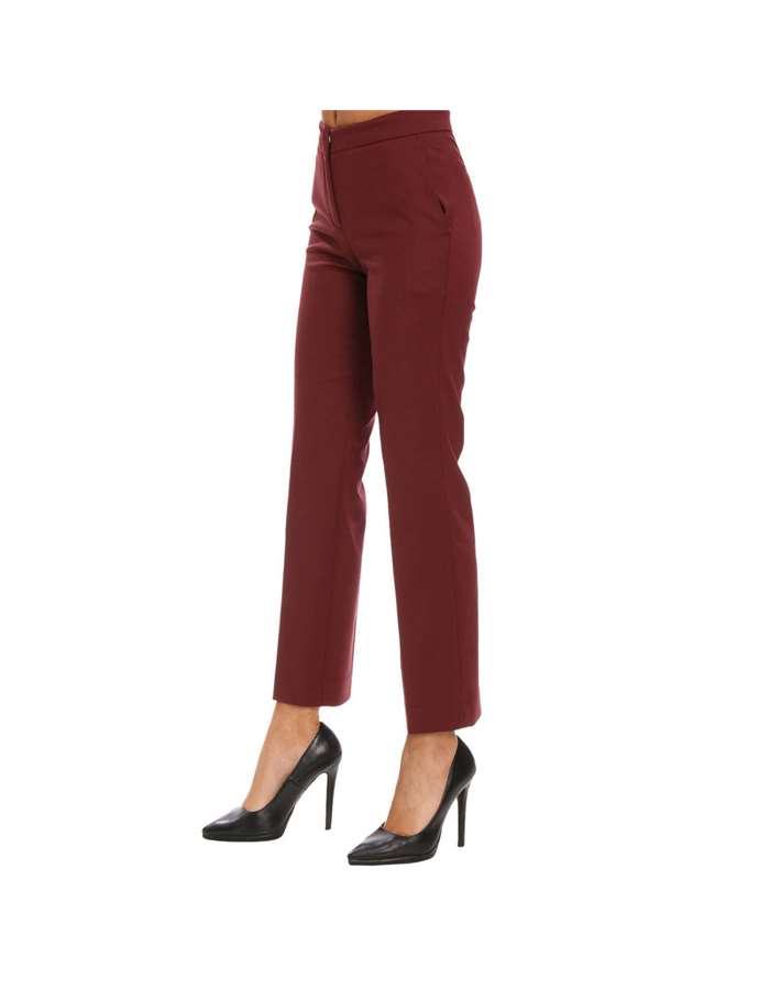 Twin-Set Pantalone 00020-bordeaux