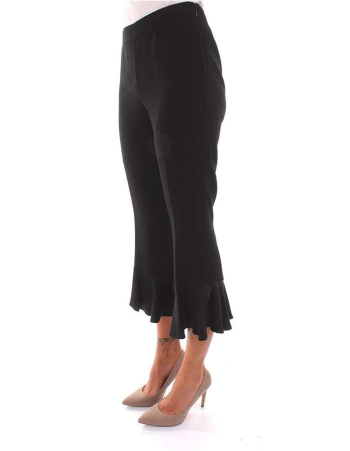Twin-Set Pantalone 00006-nero