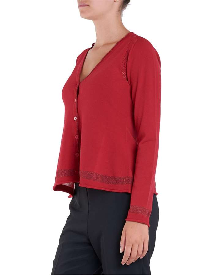 Twin-Set Cardigan 00456-poppy