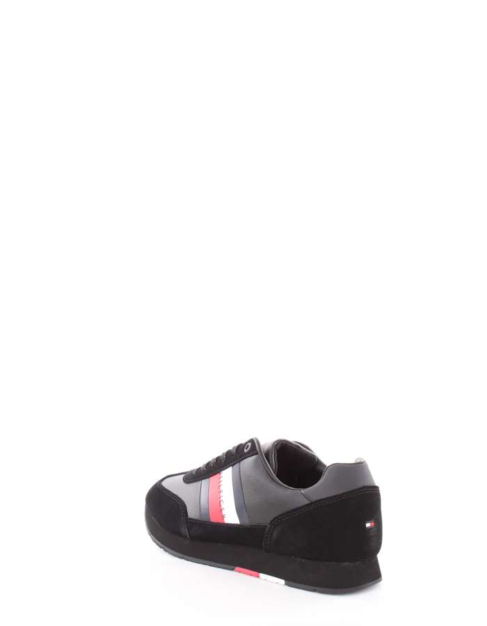 Tommy Hilfiger Shoes Sneakers Black