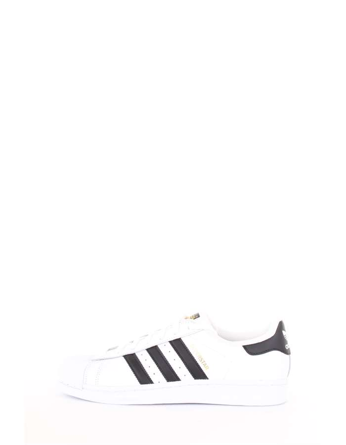 Adidas Originals Scarpe Unisex Sneakers Bianco-nero C77124-SUPERSTAR