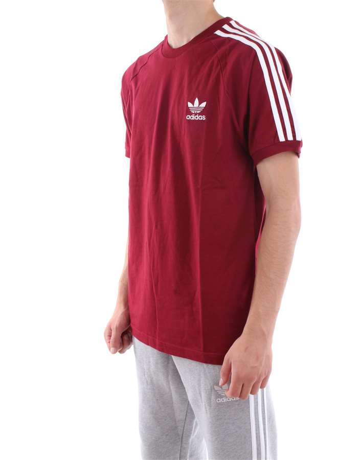 Adidas Originals T-shirt Bordeau