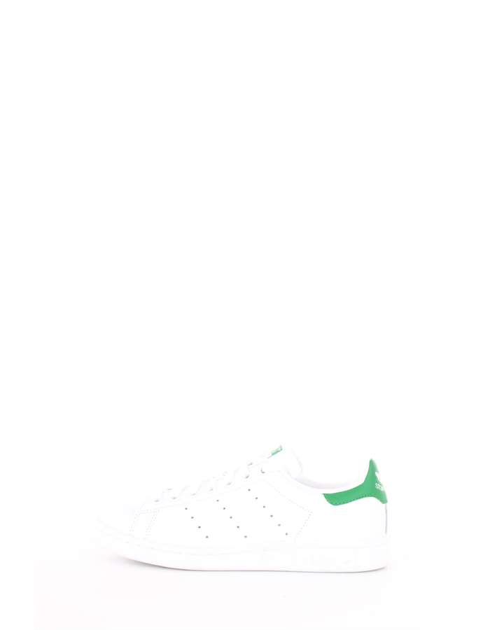 Adidas Originals Scarpe Unisex Sneakers Bianco-verde M20324-STAN-SMITH