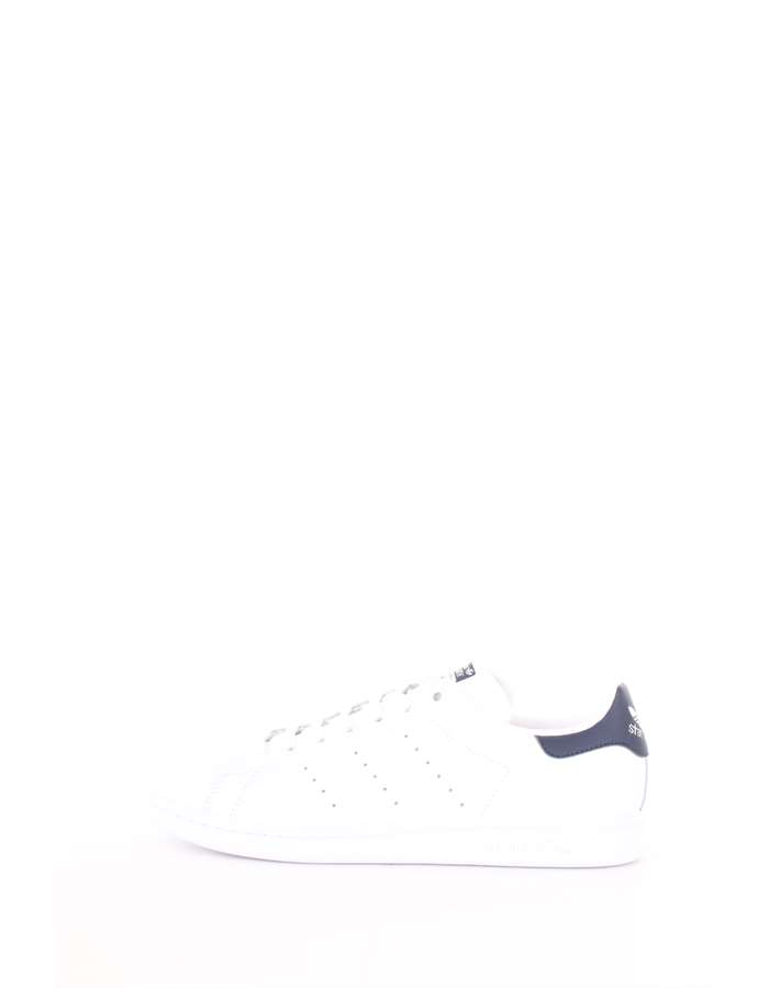 Adidas Originals Scarpe Unisex Sneakers Bianco-blu M20325-STAN-SMITH