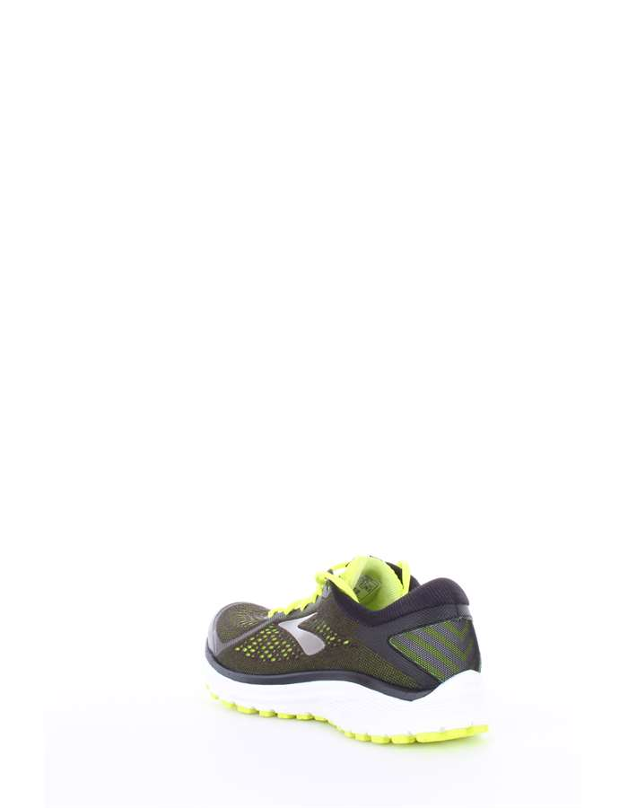 BROOKS Scarpe running 079-nero-lime