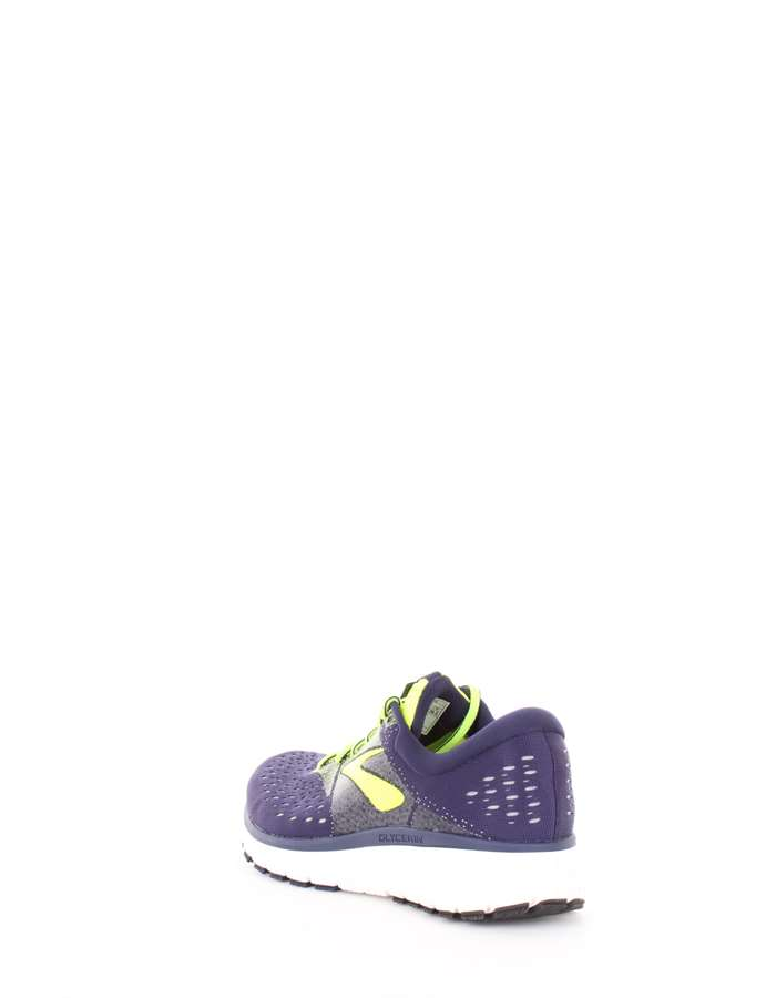 BROOKS Scarpe running 426-blu-giallo