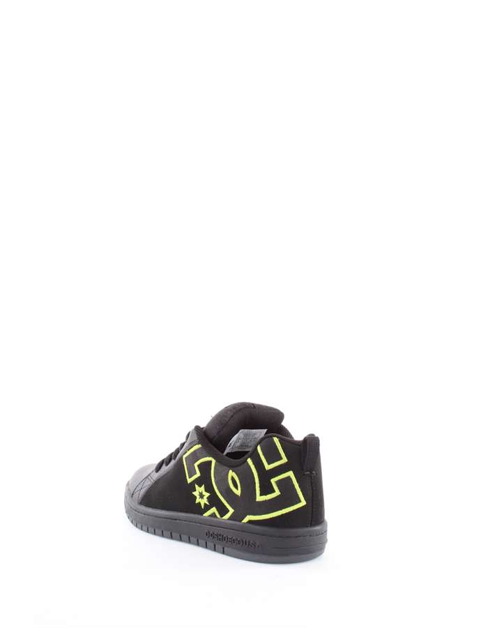DC Shoes Sneakers Bk9-nero-giallo