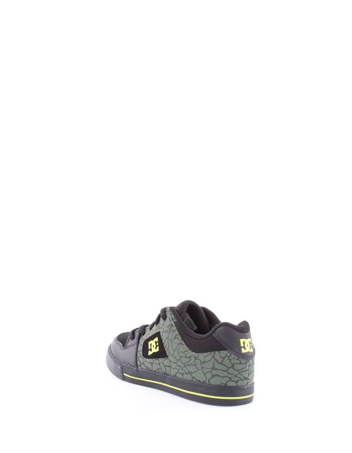 DC Shoes Sneakers Bk9-nero-lime