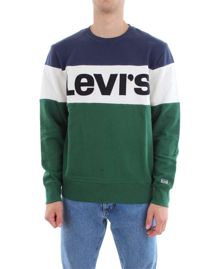 Levi's Clothing Sweat  52604-COLORBLOCK-HOODIE