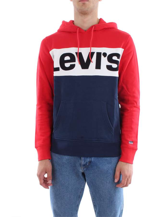Levi's Clothing Sweat  56613-COLORBLOCK-HOODIE
