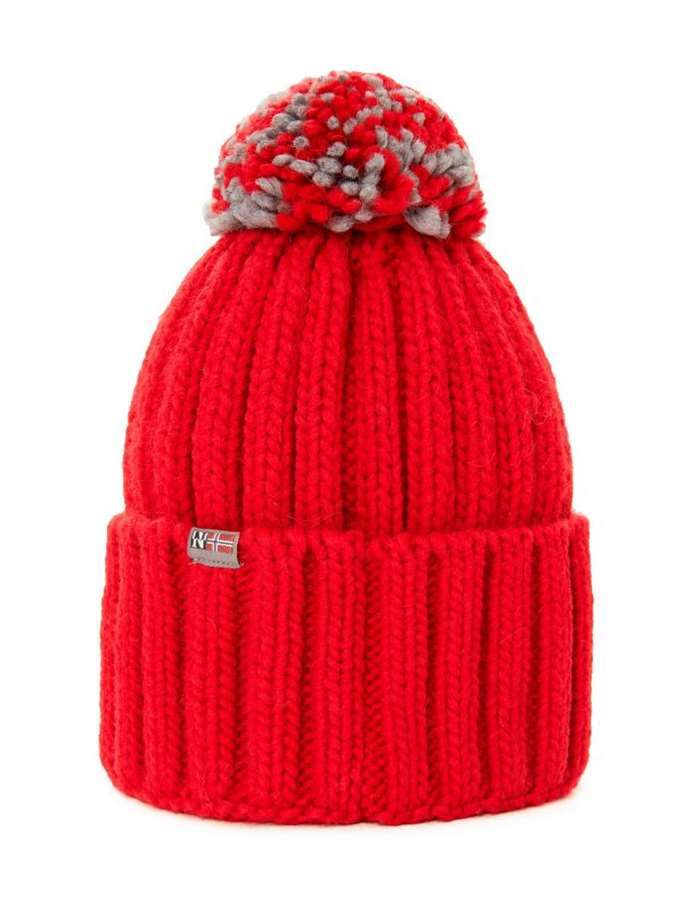 Napapijri Hat R41-Red-pop