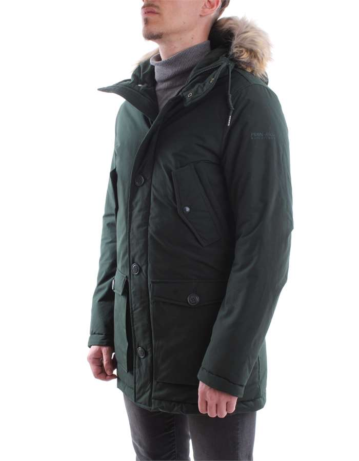 Penn-Rich Woolrich Jacket DHG-GREEN-DARK
