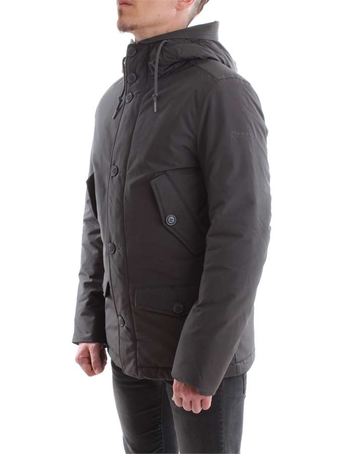 Penn-Rich Woolrich Jacket DSL-dark-gray